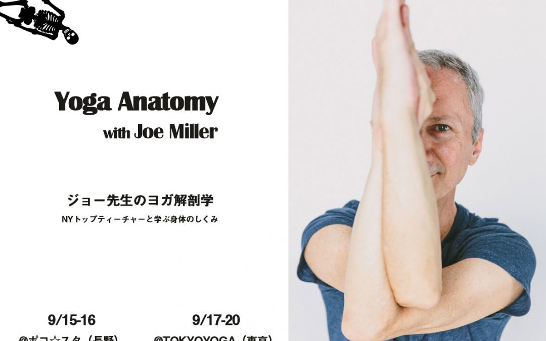 お知らせ2本立て!?解剖学WS&オンラインスタジオyogalog?