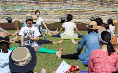 【6/2&3】ランドネピクニックin松本で今年も青空ヨガ開催!