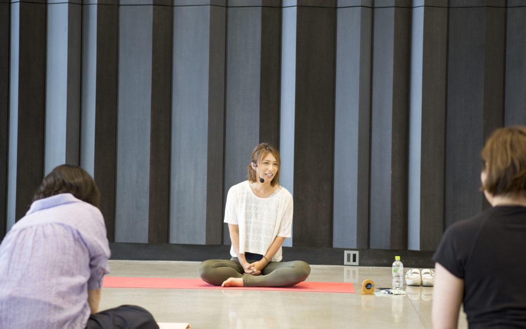 【9/8(日)】ヨガ120:前屈を「得意」にしよう!(ゆうな)